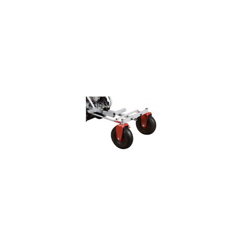 Podvozok riaditeľného vozíka KOR 220 pre stroj Panter