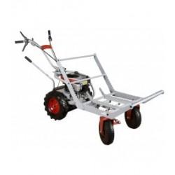 Korba na metrové drevo pre podvozok riaditeľného vozíka KOR 220