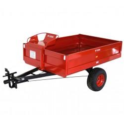PVT-500  Prívesný vozík - brzdený 500kg  (široké kolesá)