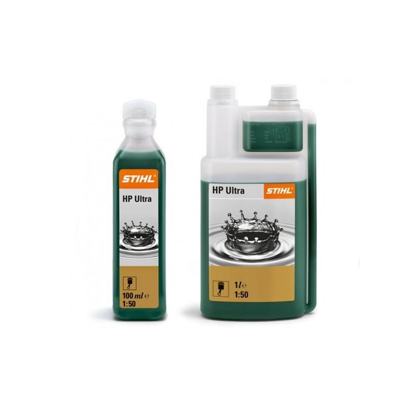 Olej pre dvojtaktné motory STIHL HP Ultra 1:50 1 l (na 50 l) s odmerkou