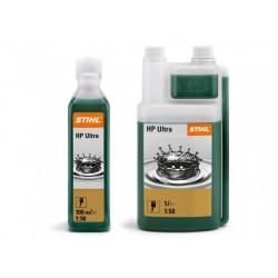 Olej pre dvojtaktné motory STIHL HP Ultra 1:50 100 ml (na 5 l)