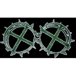 "Železné kolesá 12"" - pár Special Green TPS Labinprogres"